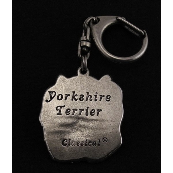 Yorkshire Terrier - keyring (silver plate) - 35 - 9250